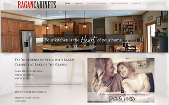 Ragan Cabinets Website